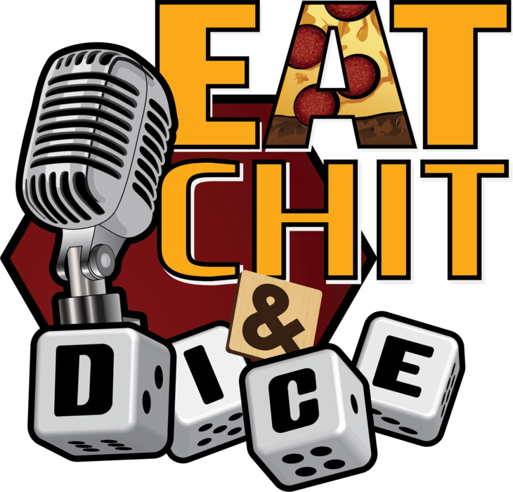 Eat Chit & Dice Logo Tee