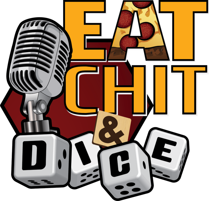 Eat Chit & Dice Tote