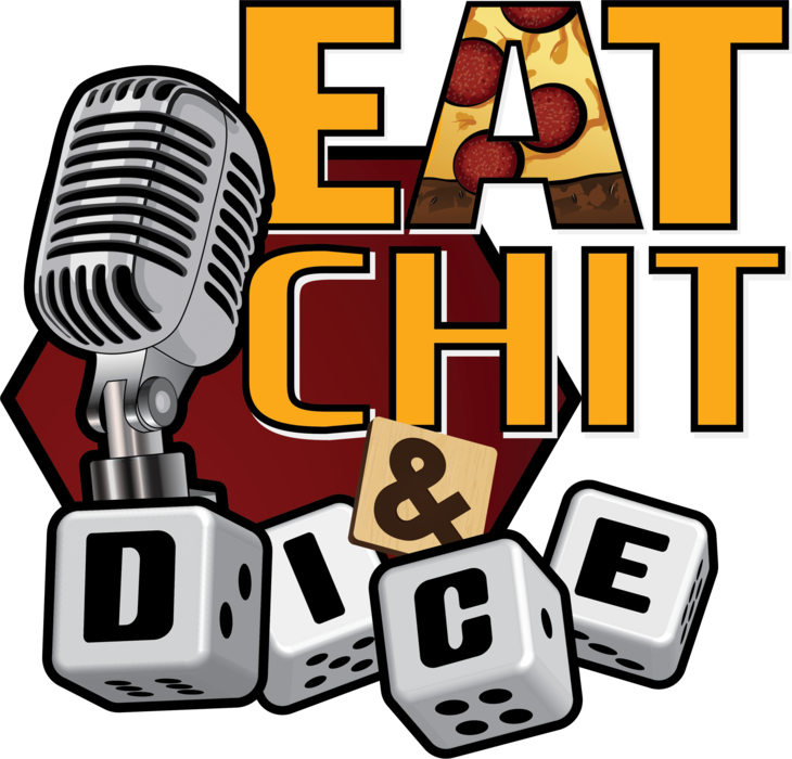 Eat Chit & Dice Ladies/Juniors Tee